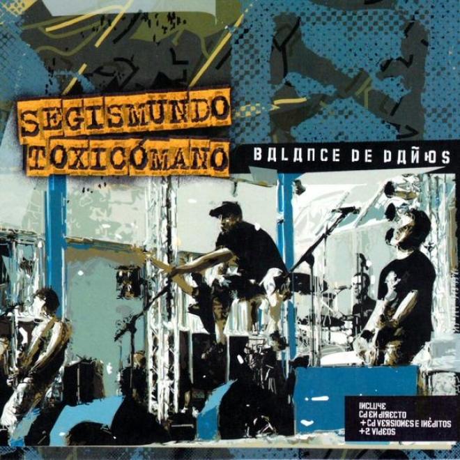 Balance De Daã±os - Los Mejores Daã±os De Nuestras Vidas -live Recording- Cd 1