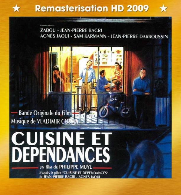 """""""bandex Originales Des Films """"""""cuisine Et Dã©pendances"""""""" (1993) & """"""""les Sables Mouvants"""""""" (1996)"""""""