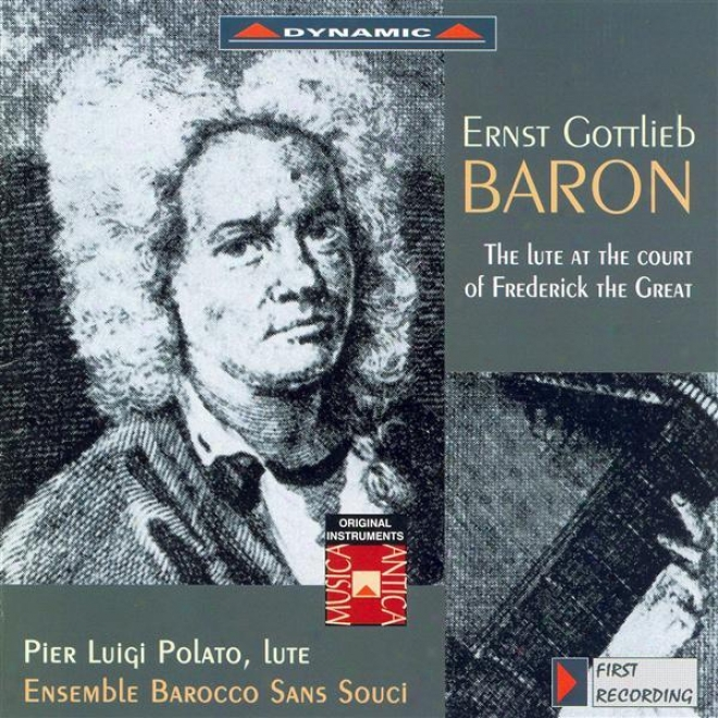 Baron: Oboe Sonata In D Inferior / Duet For Lute And Flute In G Major / Concerto For Recorder And Lute In D Minor