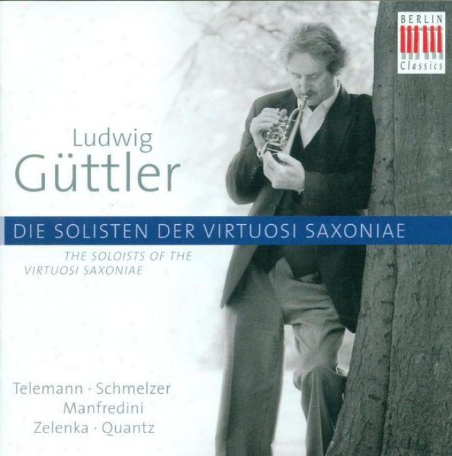 Baroque Music (cobcertos AndC hamber Melody) - Manfredini, F.o. / Zelenka, J.d. / Quanyz, J.j. / Schmelzer, J.h. / Telemann, G.p. (