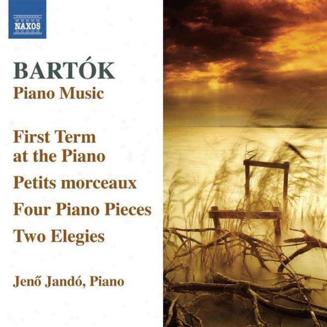 Bartok, B.: First Term At The Piano (the) / 4 Pianl Pieces / Petits Morceaux / 2 Elegies (jando)