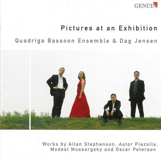 Bassoon Ensemmbble Arrangements - Mussorgsky, M.p. / Piazzolla, A. / Peterson, O. (quadriga Bassoon Ensemble)