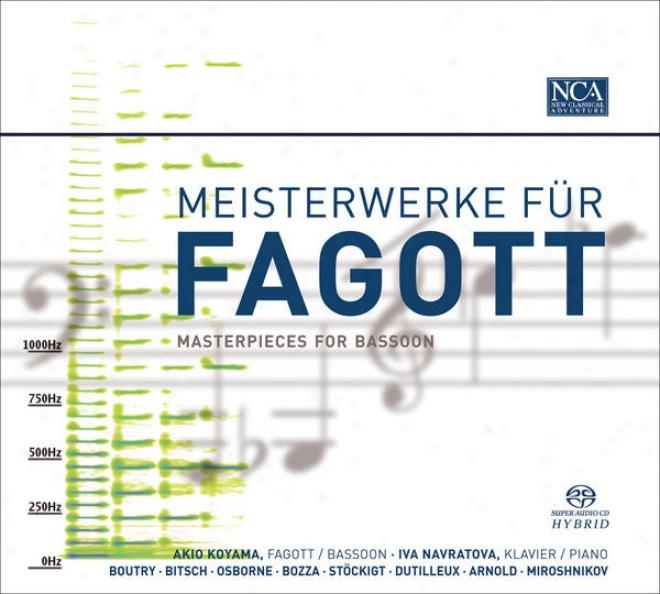 Bassoon Narrative: Koyama, Akio - Boutry, R. / Bitsch, M. / Osborne, W. / Bozza, E. / Stockigt, M. / Dutilleux, H. / Arnold, M. / Mi