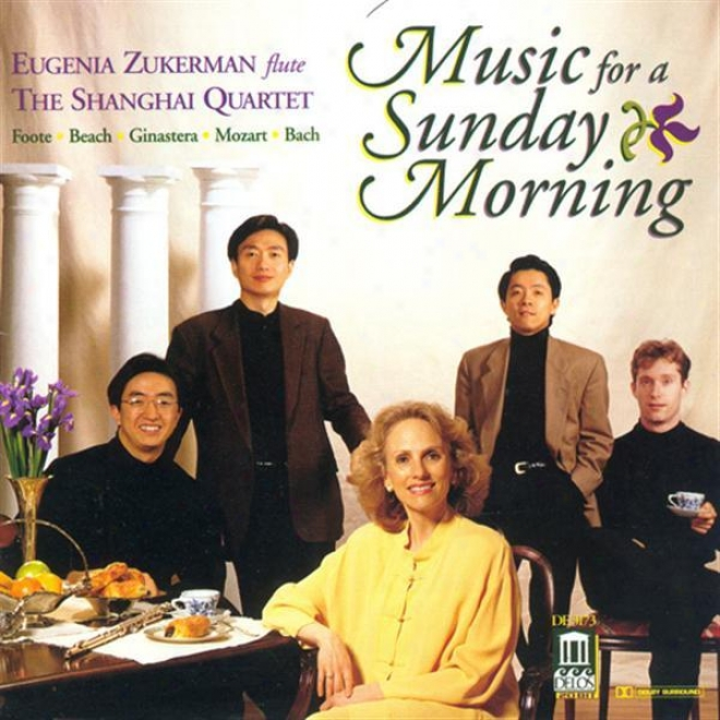 Beach, A.: Theme And Variations / Gjnastera, A.: Impresiones De La Puna / Foote, A.: Nocturne And Scherzo (music For A Sunday Morn