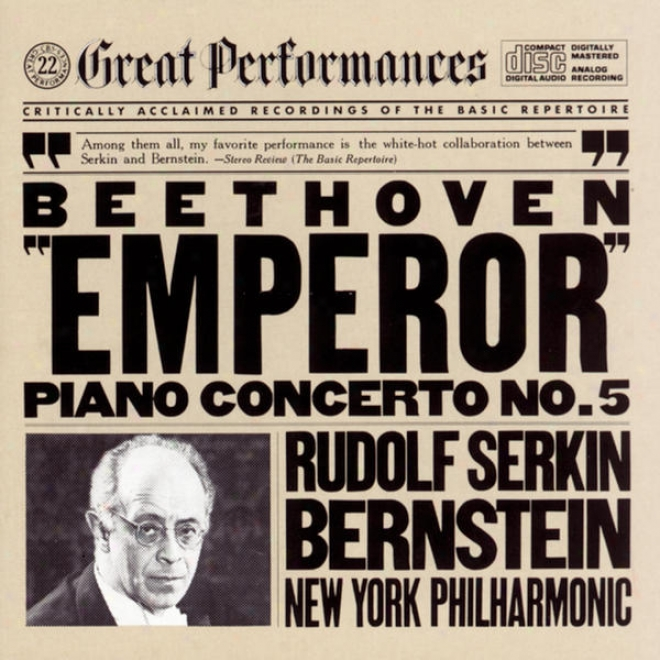 """""""beethoven:  Concerto No. 5 In E-flat Major For Piano And Orchestra, Op. 73 """"""""emperor"""""""