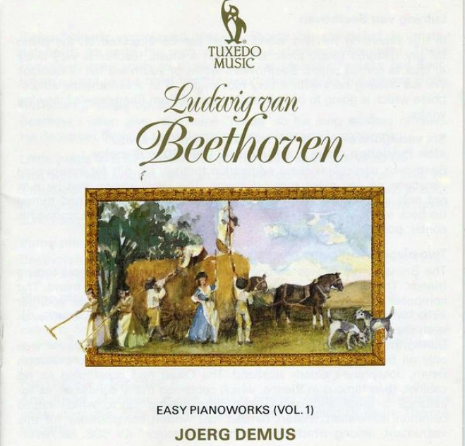 """beethoven: Easy Piano Works, Including """"fur Elise"""" And The Sonata In G, Op.79"""
