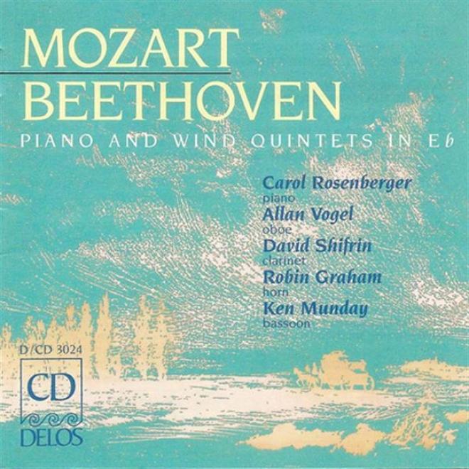 Beethoven, L.: Piano Quintet In E Flat Major / Mozart, W.a.: Piano Quintte In E Flat Major