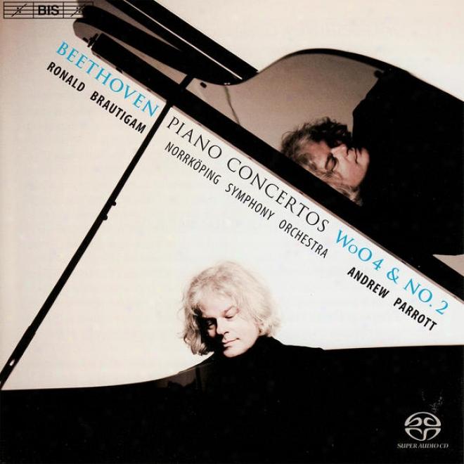 Beethoven, L. Van: Piano Concerto No. 2/piano Concerto In E Flat Major, Court 4/rondo In B Flat Major (brautigam)