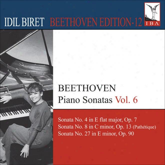 Beethoven, L. Van: Piano Sonatas, Vol. 6 (biret) - Nos. 4, 8, 27 (biret Beethoven Edition, Vol. 12)