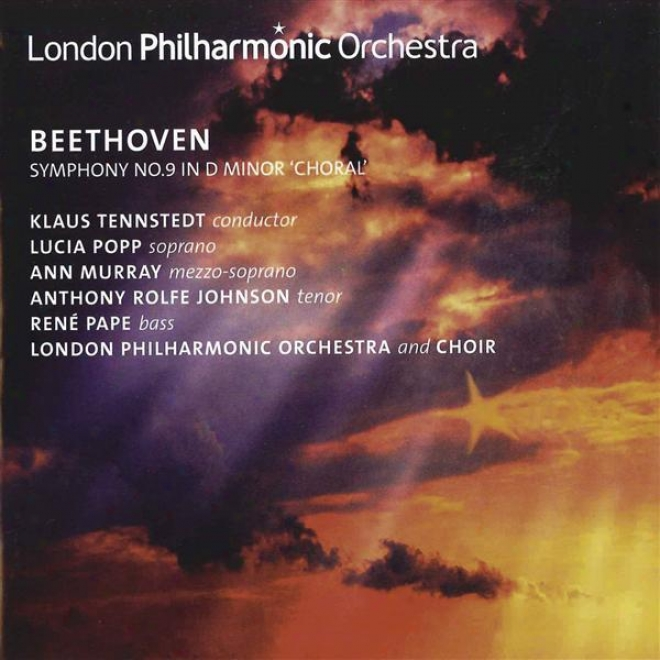 """beethoven, L. Van: Symphony None. 9, """"choral"""" (popp, Murray, Rolfe-johnson, Ppe, London Philharmonic Choir And Orchestra, Tennstedt"""