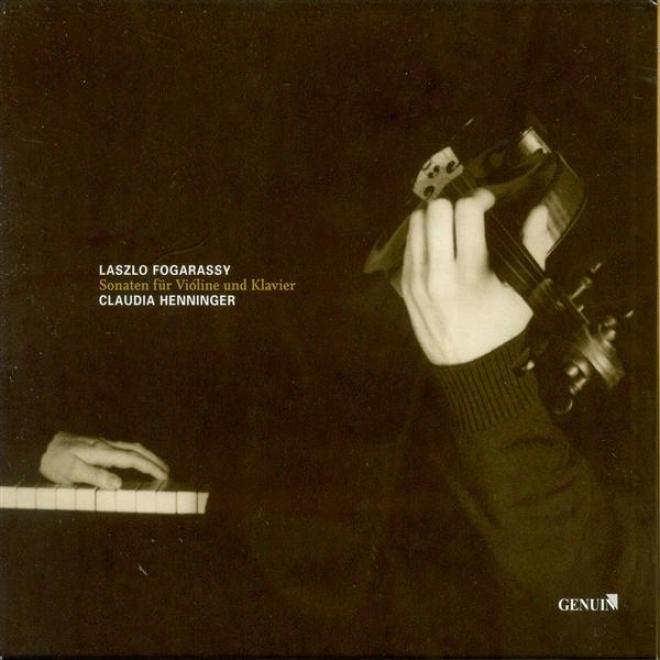 Beethoven, L. Van: Violin Sonata No. 8 / Brahms, J.: Fiddle Sonata No. 1 / Janacek, L.: Violin Sonata (fogarassy, Henninger)