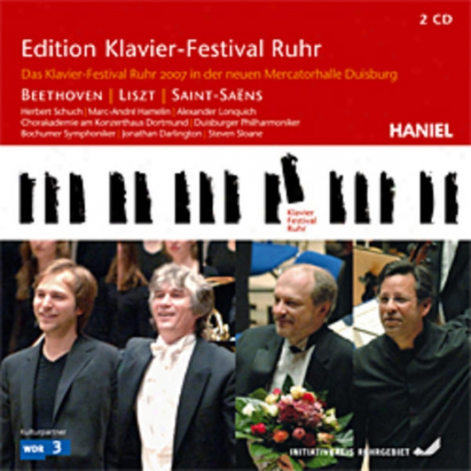 Beethoven, Saint-saens, Gluck, Strauss, Liszt - The Ruhr Piano Festival As Guest In Duisburg's New Mercator Hall