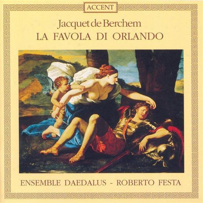 Berchem, J.: Primo, Secondo Et Terzo Libro Del Capriccio (daedalus Ensemble, Festa)