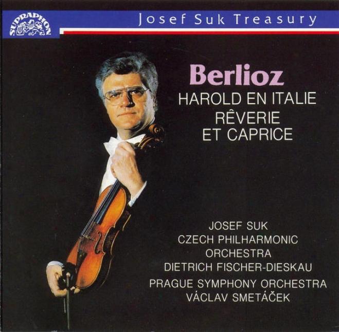 Berlioz : Harold En Italie, Reverie Et Capricie / Suk, Czech Cpo, Fischer-dieskau, Prague So, Smetcaek