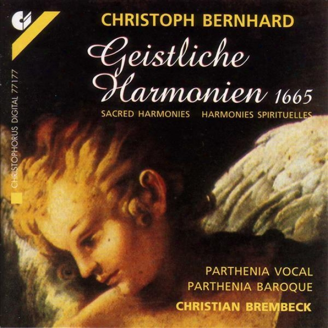 Bernhard, C.: Inviolable Haarmonies (parthenia Vocal, Parthenia Baroque, Brembeck)