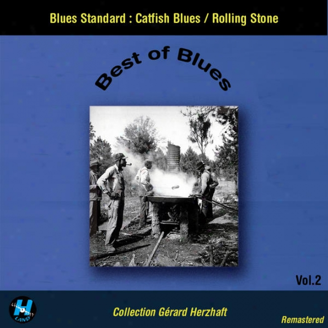 Best Of Blues Vol.2 : Blues Standard : Catfish Melancholy - Rolling Stone (collection Gerard Herzhaft Remastered)