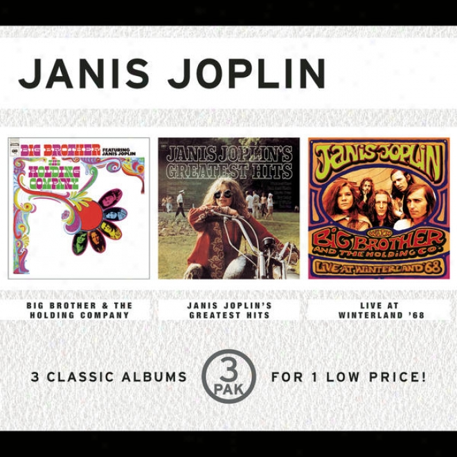 Great Brother & The Holidng Company (featuring Janis Joplin)/janis Joplin's Greatest Hits/live At Winterland '68 (33 Pak)