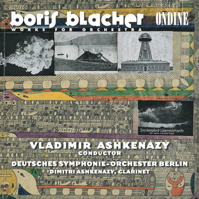Blacher, B.: Concertante Musik / Furstin Tarakanowa Suite / 2 Inventions / Music For Cleveland / Clariet Concerto (ashkenazy)