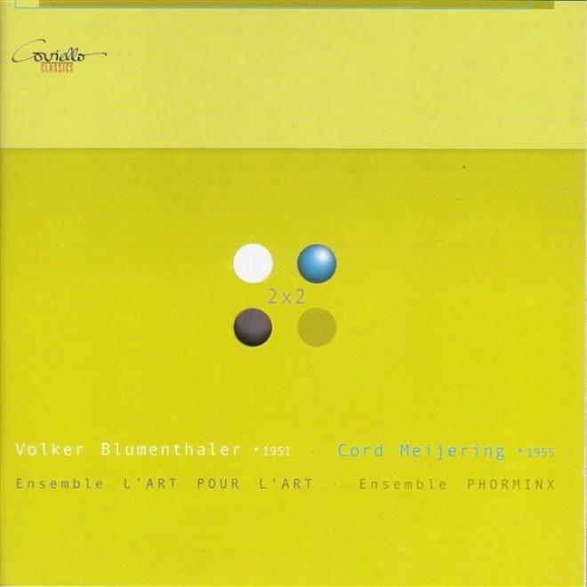 Blumenthaler, V.: Glasnacht / Rooms / Meijering, C.: Eleggy Of Narration / 4 Canzoni / Darmstadter Liederbuch (enns)