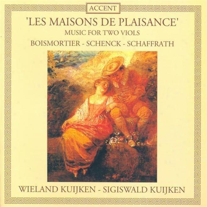 Boismortier, J.b.: Sonata, Op. 8, No. 3 / Schenck, J.: Sonata No. 8 / Schaffrath, C.: Duetto In D Minor (kuijken)