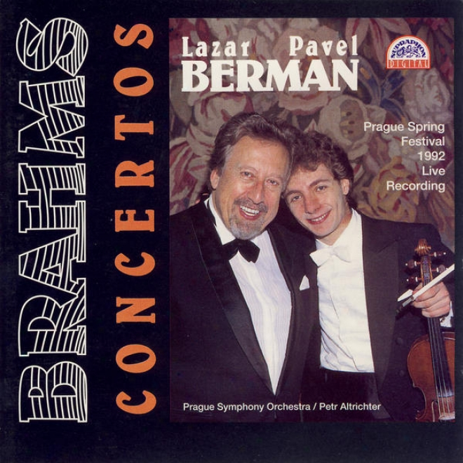 Brahmms : Concertos For Piano And Orchestra / Lazar & Pavel Berman, Prdo / Altrichter
