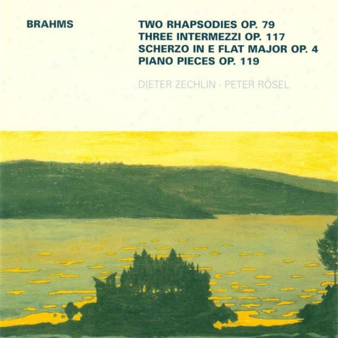 Brahms, J.: 2 Rhapsodies / 3 Intermezzos / 4 Piano Pieces, Op. 119 / Scherzo, Op. 4 (rosel, Zechlin)