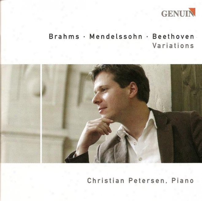Brahms, J.: 25 Variations And Fugue On A Theme By Handel / Mehdelssohn, Felix: Variations Serieuses / Beethoven, L. Van: Eroica Va