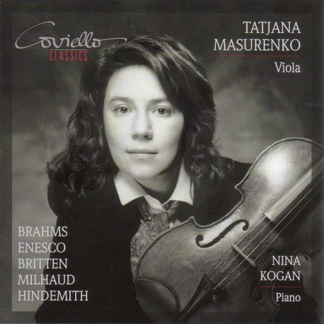 Brahms, J.: Clarinet Sonata No. 2 / Milhaud, D.: 4 Visages / Hindemith, P.: Viola Sonata, Op. 25, No. 1 (mawurenko, Kogan)