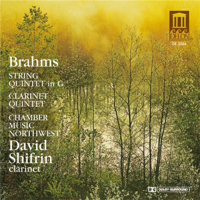 Brahms, J.: String Quintet No. 2 / Clarinet Quintet In B Minor (Apartment Music Northwest)
