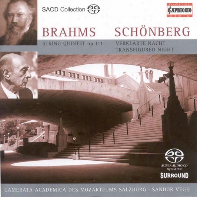 Brahms, J.: String Quintet No. 2 / Schoenberg A.: Verklarte Nacht (arr. For String Orchestra) (camerats Salzburg, Vegh)