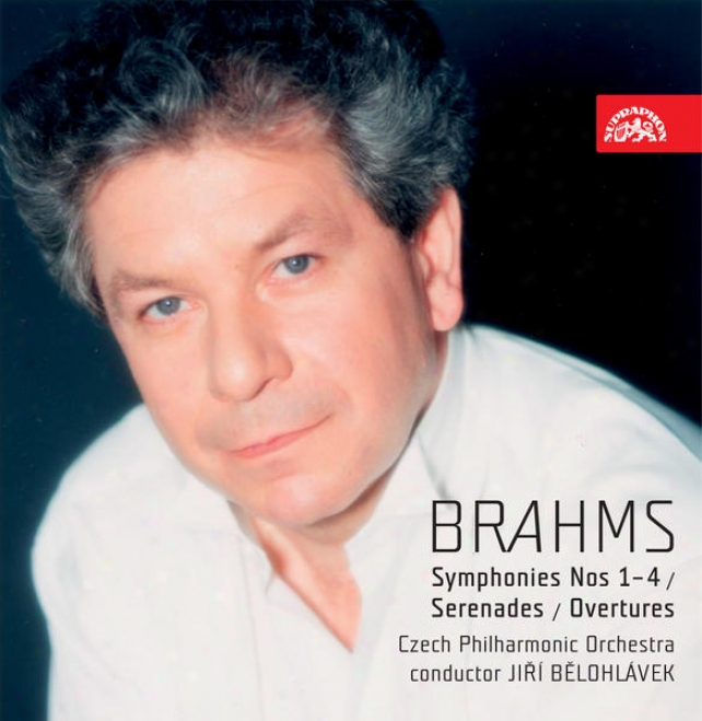 """brahms : Symphonies Nos 1-4, Serenades, Overtures """"academic"""" And """"tragic"""", Variations Oh A Theme By Haydn"""