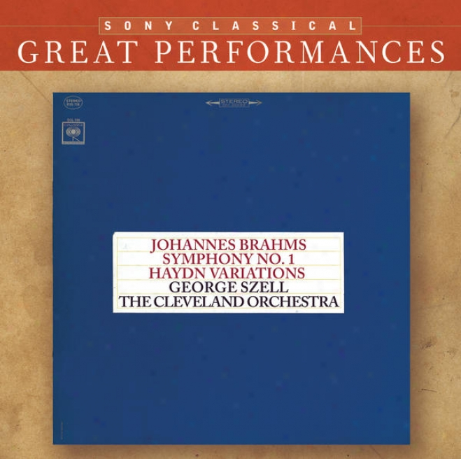 Brahms: Symphony No. 1; Variations On A Theme By Haydn; Five Hungarian Dances [great Performances]