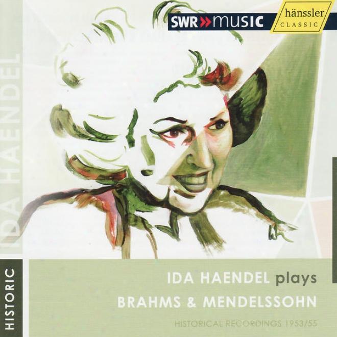 Brahms: Violin Concerto In D Major - Mendelssohn: Violin Concero In E Minor