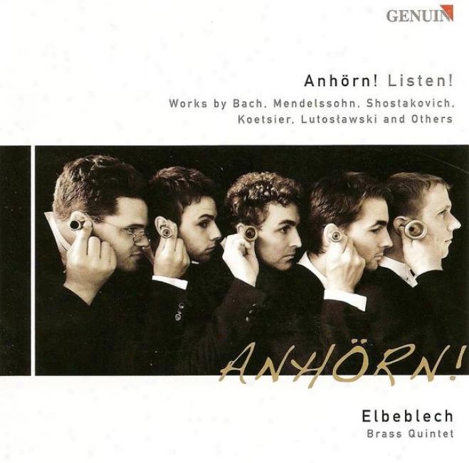 Brass Quintet Arrangements - Shostakovich, D. / Bach, J.s. / Telemann, G.p. / Mendelssohn, Felix / Jobim, A.c. / Lane, B. / Pollac