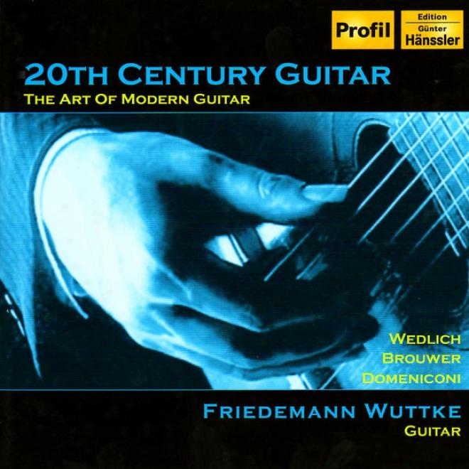 """""""brojwer: Gui5ar Concerto, """"""""elegiaco"""""""" / Wedlich:-Guitar Sonata / Domeniconi: Koyunbaba (20th Century Gyitar)"""""""