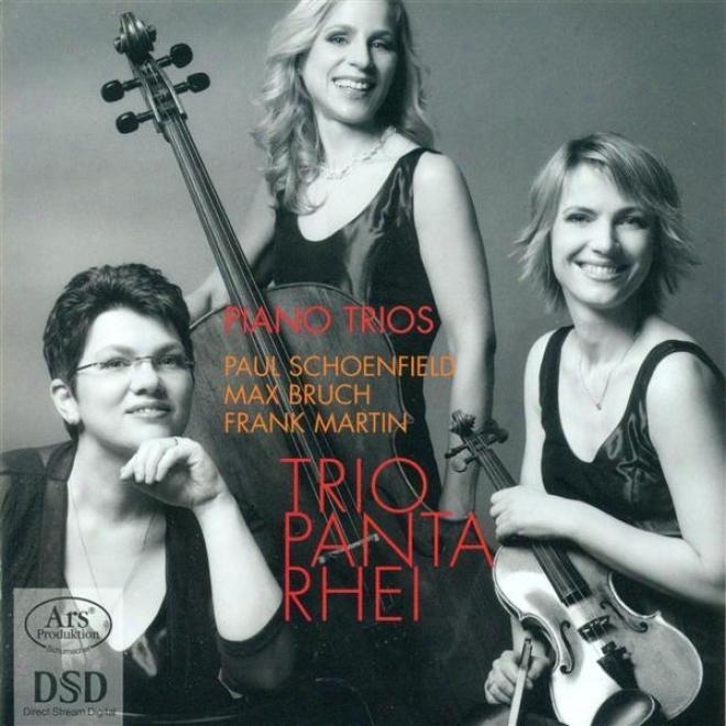 Bruch, M.: 8 Pieces / Martin, F.: Trio Sur Des Melodies Populaires Irlandaises / Schoenfield, P.: Cafe Music