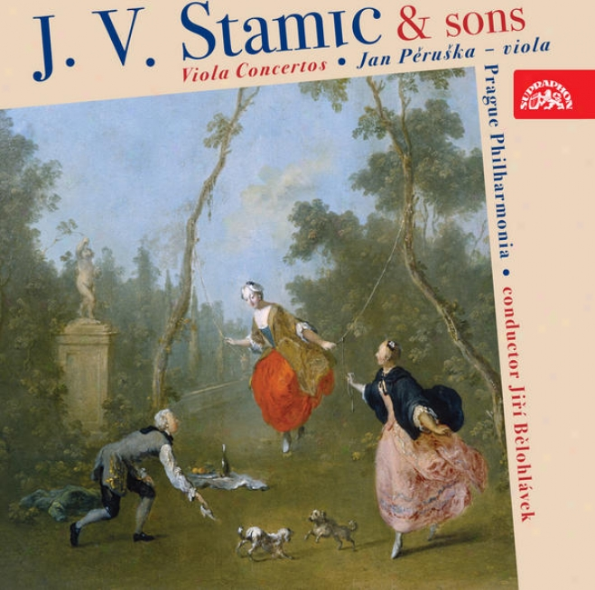 C. Stamitz, A. Stamitz, J.v.stamic: Tenor-viol Concertos / Peruska, Prague Philharmonia, Belohlavek