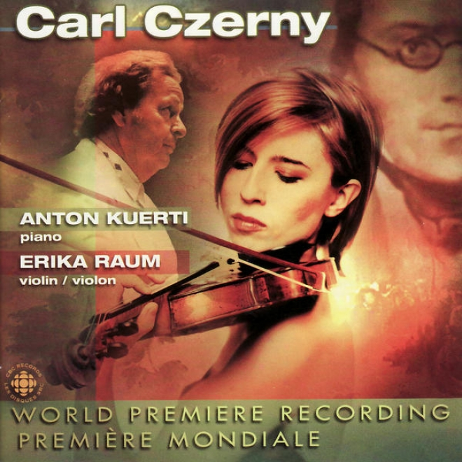 Carl Czerny: Grand Sonata For Pianoforte And Violin, Variations On A Theme By Krumpholz