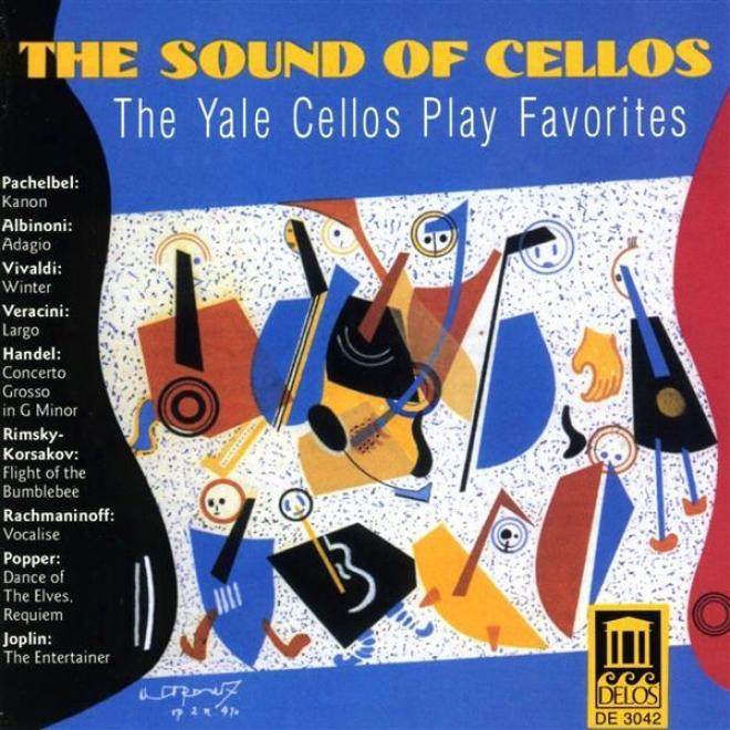 Cello Music - Pachelbel, J. / Vivaldi, A. / Albinoni, T. / Rimsky-korsakov, N. / Rachmaninov, S. (the Sound Of Cellos)