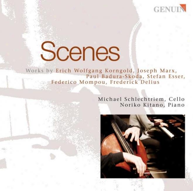 Cello Recital:: Schlechtriem, Michael - Korngold, E.w. / Marx, J. / Badura-skoda, P. / Esser, S. / Mompou, F. / Delius, F.