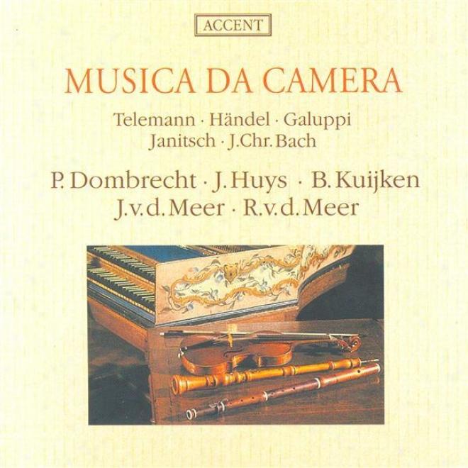 Chamber Music (18th Century) - Telemann, G.p. / Handel, G.f. / Galuppi, B. / Janitsch, J.g. / Bach, J.c. (parnasuss)
