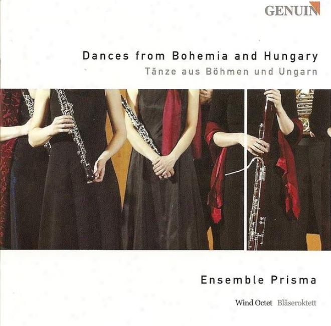 Chamber Music (bohemian And Hungarian) - Dvorak, A. / Brahms, J. / Liszt, F. / Farkas, F. / Smetana, B. (ensemble Prisma)