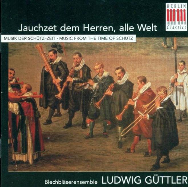 Chamber Music (brass Esnemble) - Gabrieli, G. / Hassler, H.l. / Praetorius, M. / Lasso, O. Di / Schutz, H. / Hessen-kassel, L.m. V