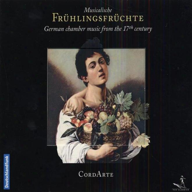 Chamber Music (german 17th Century) - Becker, D. / Strungk, N.a. / Reincke, J.a. / Buxtehude, D. / Forster, K. / Tneile, J. (cord