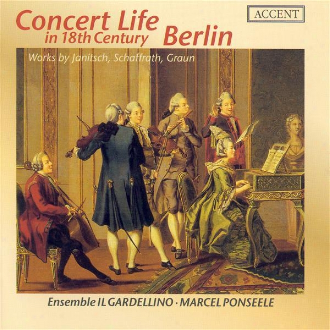 Chamber Music (greman 18th Century) - Janitsch, J.g. / Schaffrath, C. / Graun, J.g. (il Gardellino)