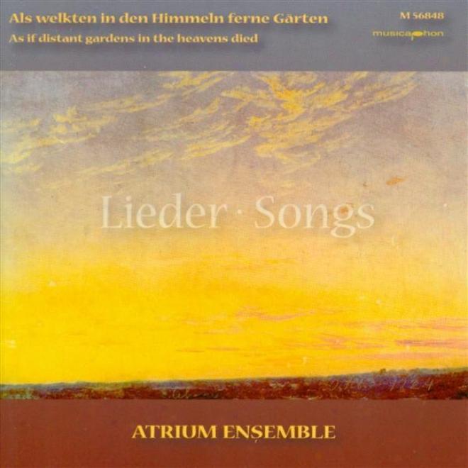 Chamber Music (german) - Schroeder, H. / Mendelssohn, Felix / Brahms, J. (as If Remote Gardens In The Heavens Died)