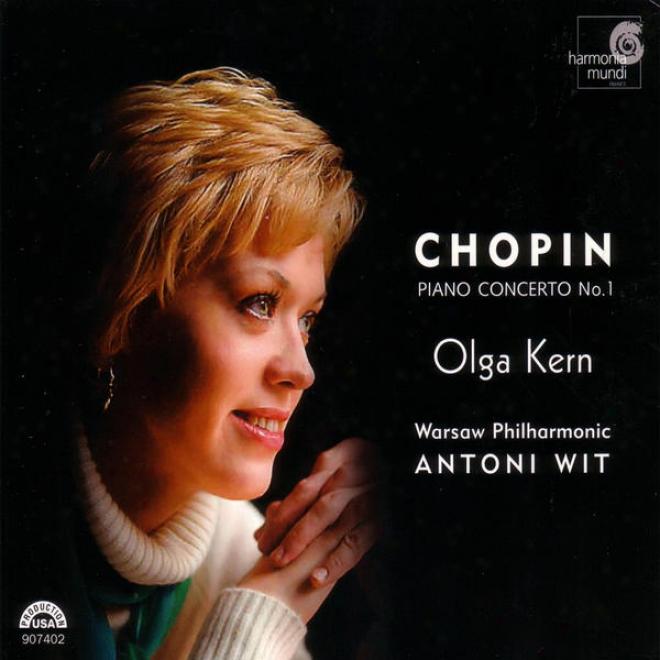 Chopin: Piano Concerto No.1, Fantaisie Op.49, Bolerl Op.19, Fantaisie-impromptu Op.66, Polonaise Op.53