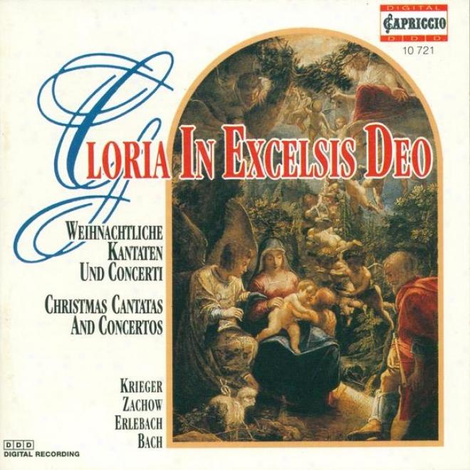 Psalm-tune Concert: Berlin Capella Cantorum - Krieger, J.p. / Zachow, F.w. / Erlsbach, P.h. / Bach, J.s.