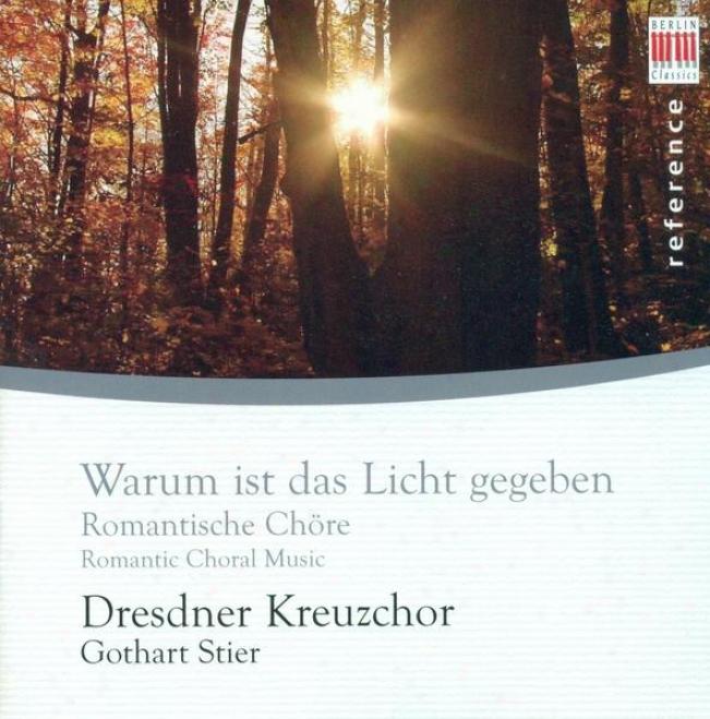 Choral Concert:_Dresden Chamber Choir - Reger, M. / Bruckner, A. / Mauersberger, R. / Kaminski, H. / Becker, A. / Brahme J. / Sti