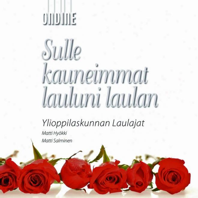 Psalm-tune Concert: Yl Male Voice Choir - Linkola, J. / Schubert, F. / Godzinsky, G. / Fougstedt, N. / Lindstrom, E. (sulle aKuneimmat
